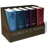 Engelska Böcker George R. R. Martin's a Game of Thrones Leather-Cloth Boxed Set (Song of Ice and Fire Series): A Game of Thrones, a Clash of Kings, a Storm of Swords, (Häftad, 2015)