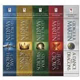 Science Fiction & Fantasy Böcker George R. R. Martin's A Game of Thrones 5-Book Boxed Set (Song of Ice and Fire Series) (E-bok, 2015)