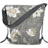 Axelremsväska Axelremsväska Ceannis Shoulder Bag Flower Linen - Black