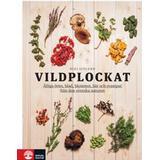 Häftad Böcker Vildplockat: ätliga örter, blad, blommor, bär och svampar från den svenska naturen (Häftad, 2017)