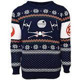 Jultröja Herrkläder Numskull Star Wars Tie Fighter Sweater Unisex