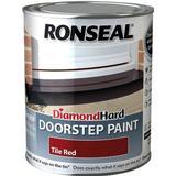 Concrete Paint Concrete Paint price comparison Ronseal Diamond Hard Doorstep Concrete Paint Red 0.25L