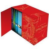Engelska Böcker Harry Potter Box Set: The Complete Collection Children's Hardback (Övrigt format, 2014)