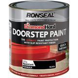 Concrete Paint Concrete Paint price comparison Ronseal Diamond Hard Door Step Concrete Paint Black 0.25L