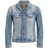 Jackor Herrkläder Jack & Jones Classic Denim Jacket Blue/Blue Denim