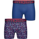 Boxer Herrkläder Frank Dandy Blume Boxer 2-pack Navy/Blue
