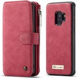Mobiltelefon tilbehør CaseMe Zipper Wallet Detachable Case (Galaxy S9)