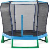 Trampolin Trampolin Plum Junior Jumper Trampoline + Enclosure 213cm