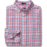 Skjortor Herrkläder Gant Indian Madras Shirt Capri Blue