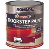 Concrete Paint Concrete Paint price comparison Ronseal Diamond Hard DoorStep Concrete Paint Red 0.75L