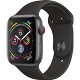 Smart Watches Apple Watch Series 4 Cellular 44mm Aluminum Case with Sport Band