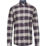 Herrkläder Signal Pelle Oxford Classic Check Shirt - Deep Orange