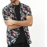 Kortärmad Skjorta Herrkläder Minimum Aleksander Short Sleeved Shirt - Navy Blazer