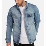Herrkläder Just Junkies Volcano Jacket - Ocean Blue Patch