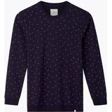 Sweatshirt Herrkläder Minimum Campi SweatShirt - Navy Blazer