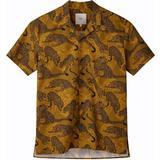 Kortärmad Skjorta Herrkläder Minimum Emanuel Short Sleeved Shirt - Tobacco Brown