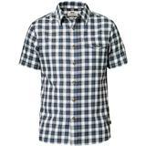 Skjortor Herrkläder Fjällräven Singi Shirt SS - Uncle Blue