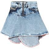 Barnkläder Diesel Grinskirt - Blue Jeans (00J4BLKXB0P)