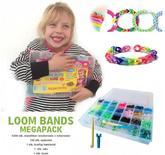 Loom Bands MEGA Pack 5000 stk. ÅRETS HIT HOS BØRNENE 2014