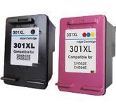 HP 301XL kompatibel - 2 printerpatroner inkpack