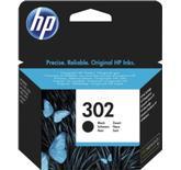 HP HP 302 sort original blækpatron 190 sider F6U66AE