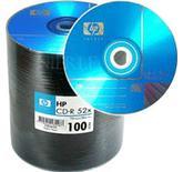 HP CDR 52X 700MB 80min,  100 stk YXCD6