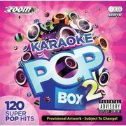 Zoom Karaoke - Zoom Karaoke Pop Box 2 Party Pack - 6 CD+G Box Set - 120 Songs
