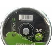 Maxell DVD+R 4.7GB 16x Spindle 10-Pack