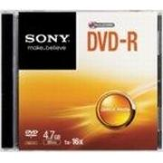 Sony DVD-R 4.7GB 16x Slimcase 1-Pack