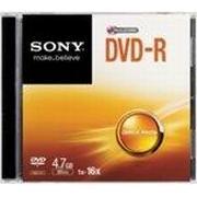 Sony DVD-R 4.7GB 16x Slimcase 1-Pack