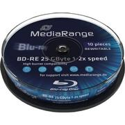 MediaRange BD-RE 25GB 2x Spindle 10-Pack