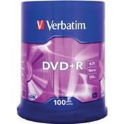 Verbatim DVD+R 4.7GB 16x Spindle 100-Pack