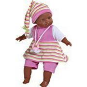 Paola Reina Sonia Sommer Puppe (schwarz)