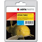 AgfaPhoto T0802/C13T08024011 Ink Catridge for Epson Stylus Photo R265 - Assorted Colours