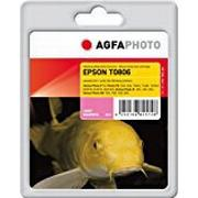 AgfaPhoto T0806/C13T08064011 Ink Catridge for Epson Stylus Photo R265 - Assorted Colours