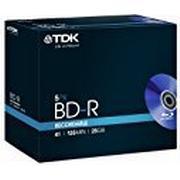 TDK BD-R 25GB 4x Jewelcase 5-Pack