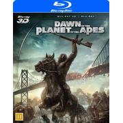 Dawn of the planet of the apes 3D (Blu-ray 3D + Blu-ray) (3D Blu-Ray 2014)