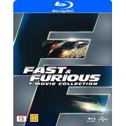 Fast & Furious 1-7 Collection (7Blu-ray) (Blu-Ray 2015)
