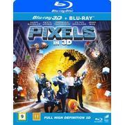 Pixels 3D (Blu-ray 3D + Blu-ray) (3D Blu-Ray 2015)