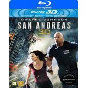 San Andreas 3D (Blu-ray 3D + Blu-ray) (3D Blu-Ray 2015)