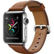 Apple Watch Series 2 38mm Stainless Steel Case with Classic Buckle