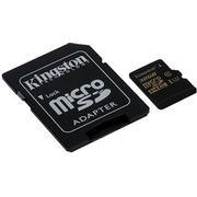Kingston Gold MicroSDHC Class 10 UHS-I U3 90/45MBs 32GB+Adapter