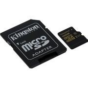Kingston Gold MicroSDHC UHS-I U3 90/45MBs 16GB