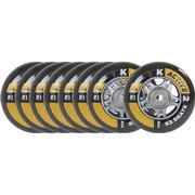K2 Skate Active 76mm 80A 8-pack