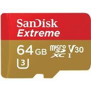 SanDisk Extreme MicroSDXC V30 UHS-I U3 64GB