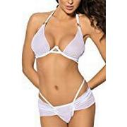 Anais Sensual Lingerie 2X-Large White Angels Never Sin Afesie Erotic Apparel