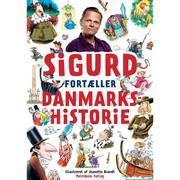 Sigurd fortæller danmarkshistorie, Lydbog MP3