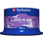 Verbatim DVD+R 8.5GB 8x Spindle 50-Pack