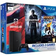 Sony PlayStation 4 Slim 1TB - Driveclub & Uncharted 4 & Ratchet & Clank