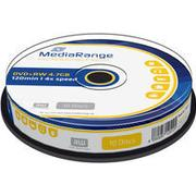MediaRange DVD+RW 4.7GB 4x Spindle 10-Pack